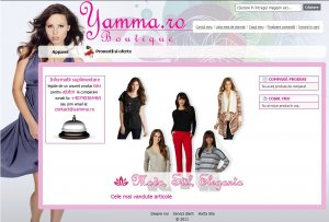 creare site web - ecommerce - yamma.ro
